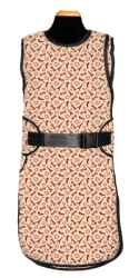 Comfort Wrap Apron in Eiffel Tower fabric